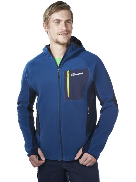 Berghaus Ben Oss Windbreaker Jacket Men darkblue/darkblue